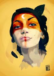 Selfportrait version 2 by NecoTHO