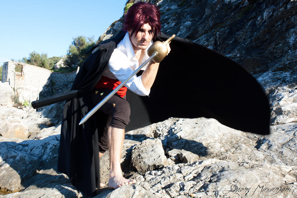 Shanks cosplay - One Piece by Lydia3290