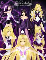 Sailor Astera Poster by loriofpandora
