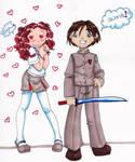 Swords... +heart+