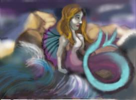 Mermaid For Deviant Art by sandraaking