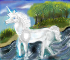 Unicorn For Deviant Art Resized by sandraaking
