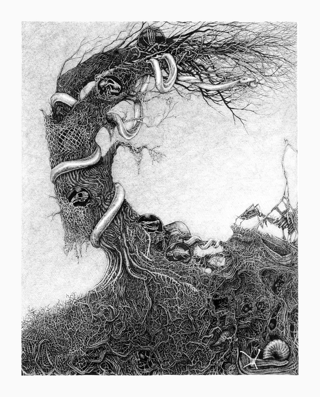 Yggdrasil Art Yggdrasil by dennisdon...