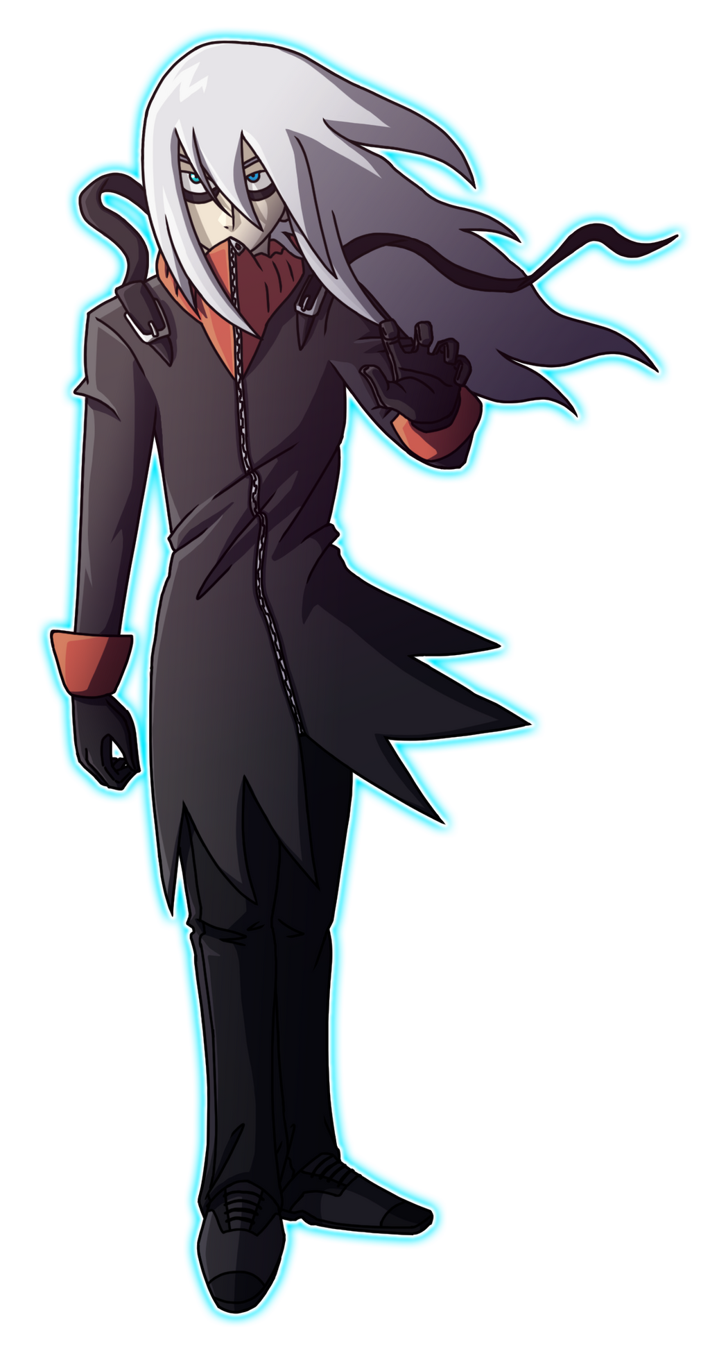 Darkrai as Human | Pokemon by PokemonConcepts on DeviantArt