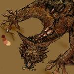 Oekaki dragon again