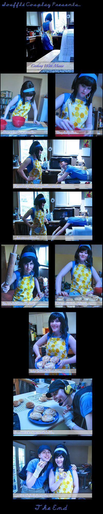 Cooking With Mama by souffle-cosplay