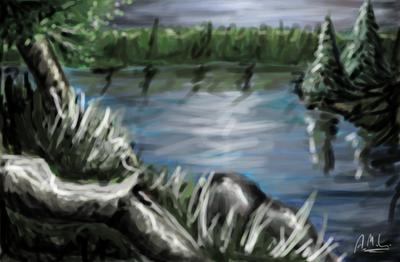 Mah digital stuffz Landscape__Revisited_by_ShadowDragon589