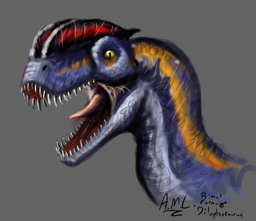 dilophosaurus primal carnage - photo #11
