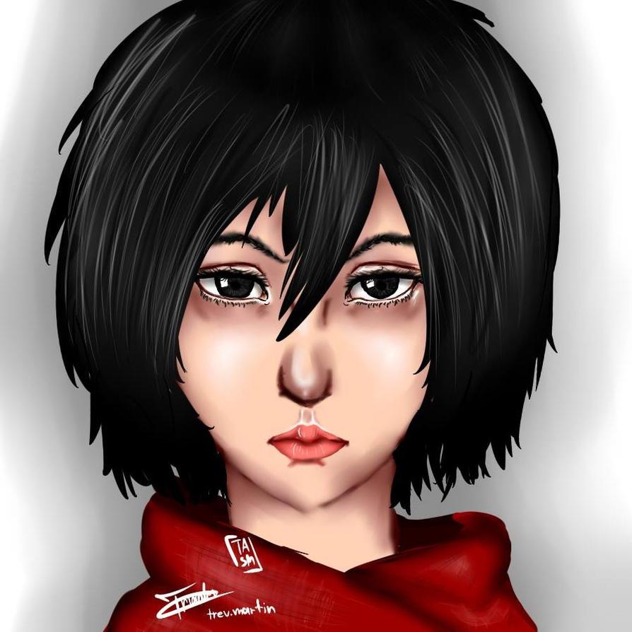 Mikasa by Tr3bor122