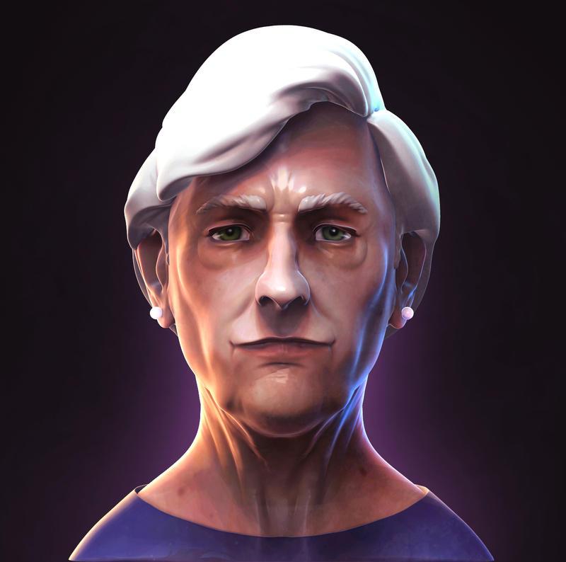 Old Lady by Hakan-AYDIN
