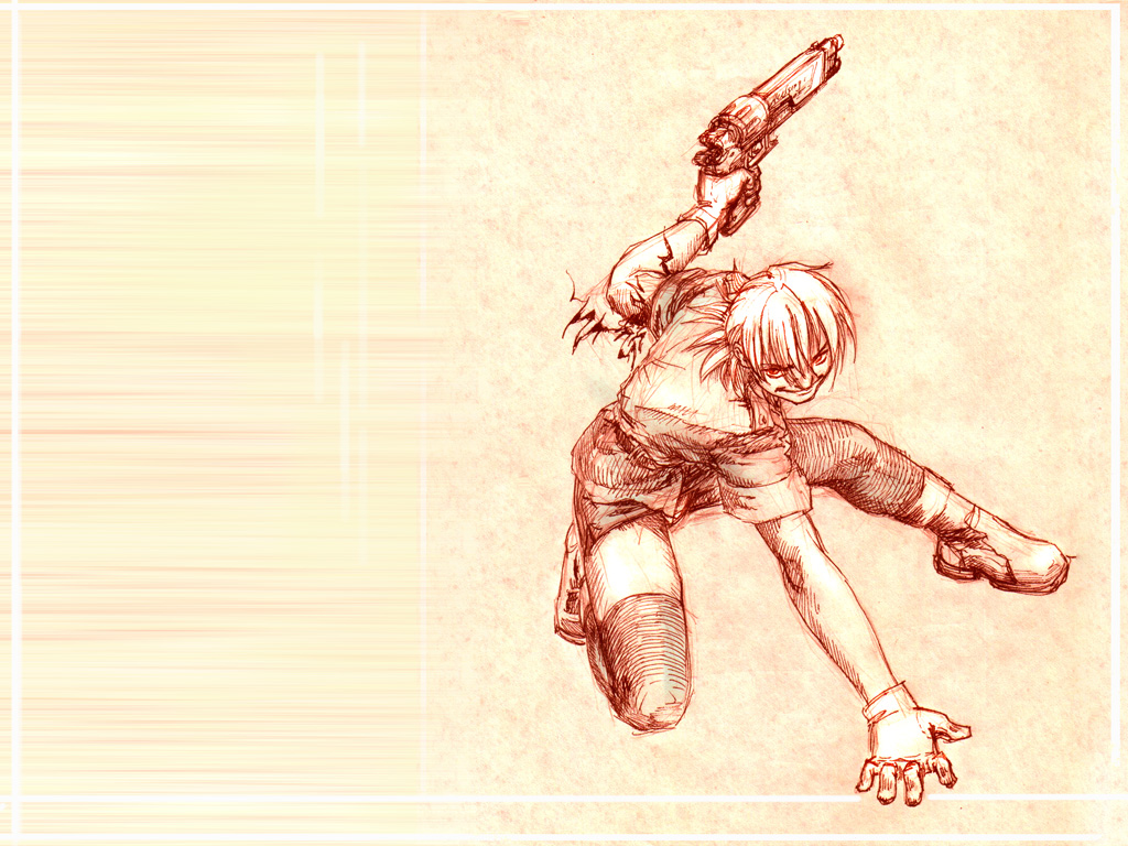 Seras likes guns by MamonnA