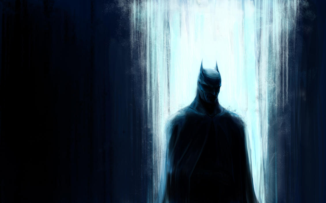 Batman in lights by MamonnA