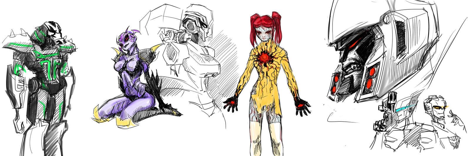 TFA doodling by MamonnA