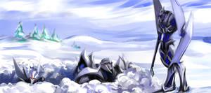 Snow creepy Legolas
