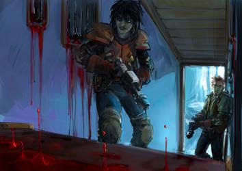 Demon hunt by MamonnA