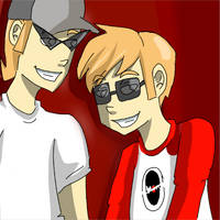 TOON BROS WHAT by Kayleigh-chan
