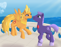 Pokepony Trade - Sableye and Torchic