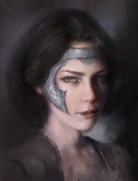 Portrait by Lesvaria