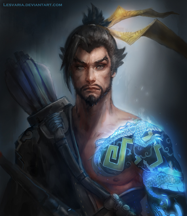Hanzo Wallpaper: Overwatch By Lesvaria On DeviantArt