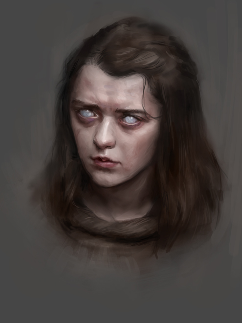 Blind Arya by Lesvaria