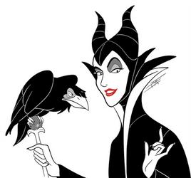 Inktober 2016 - Maleficent