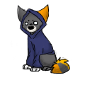 Hoodie pose by Aquawolves