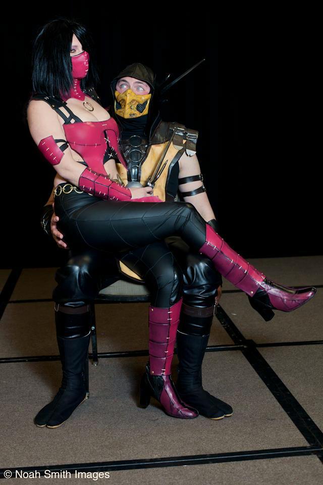 Mileena and Scorpion Mortal Kombat X Cosplay by NerdySiren ...