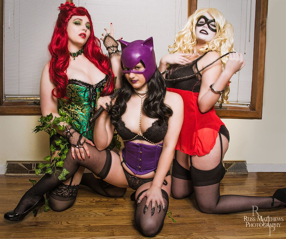 sirens cosplay city Gotham