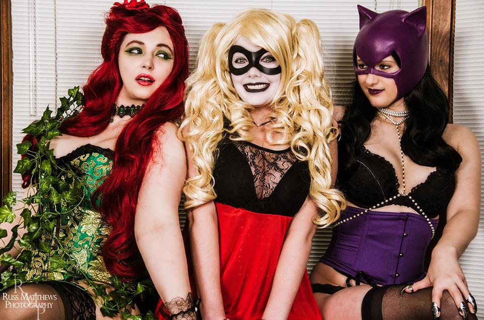 Gotham City Sirens Boudoir Lingerie Cosplay by NerdySiren
