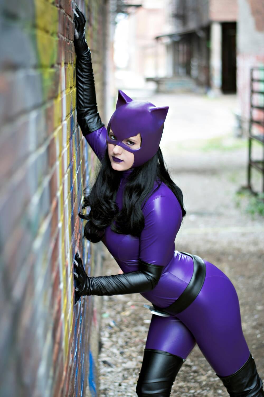Purple Catwoman Cosplay by NerdySiren on DeviantArt