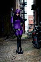 Purple Catwoman Cosplay Costume by NerdySiren