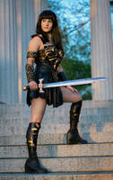 Xena Warrior Princess Cosplay Costume by NerdySiren