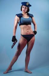 Sexy Jill Valentine Resident Evil Cosplay