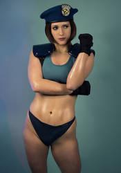 Jill Valentine Resident Evil Sexy Cosplay by NerdySiren