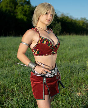 Gabrielle Xena Cosplay Costume