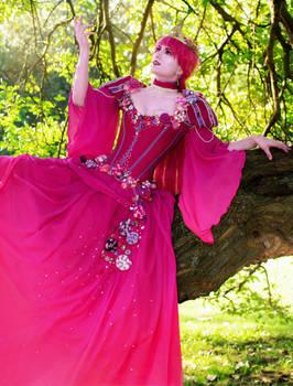 Hannah Alexander Princess Bubblegum Cosplay Dress