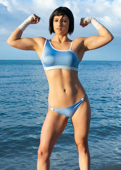 Beach Legend of Korra Avatar Cosplay