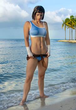 Legend of Korra Avatar Beach Cosplay