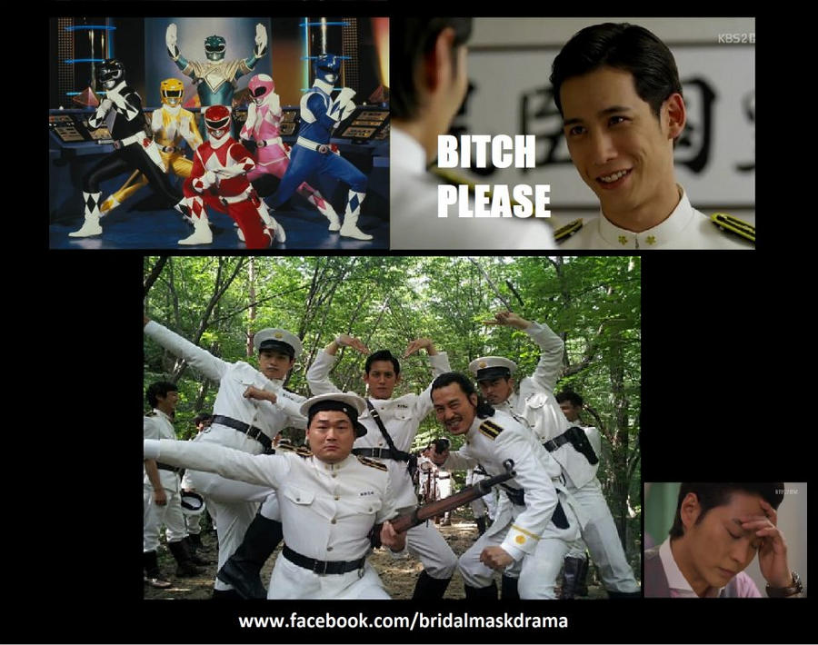 Parlons dramas ! ~ - Page 4 Power_rangers__gaksital_style_by_onefive1-d5dn5an