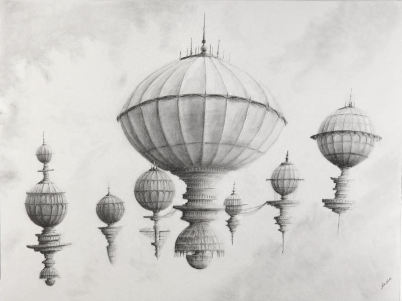 Floating Base by ChrisBeckerArt