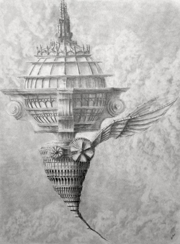 Airship V by ChrisBeckerArt