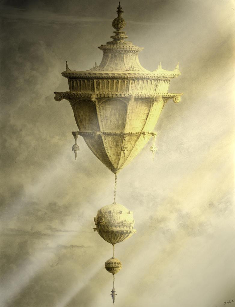 Citadel Adrift by ChrisBeckerArt