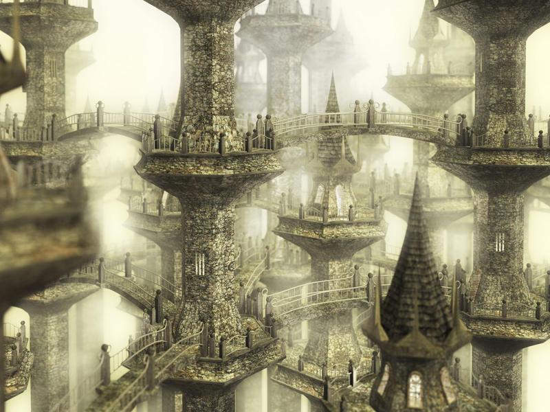 Aerie by ChrisBeckerArt