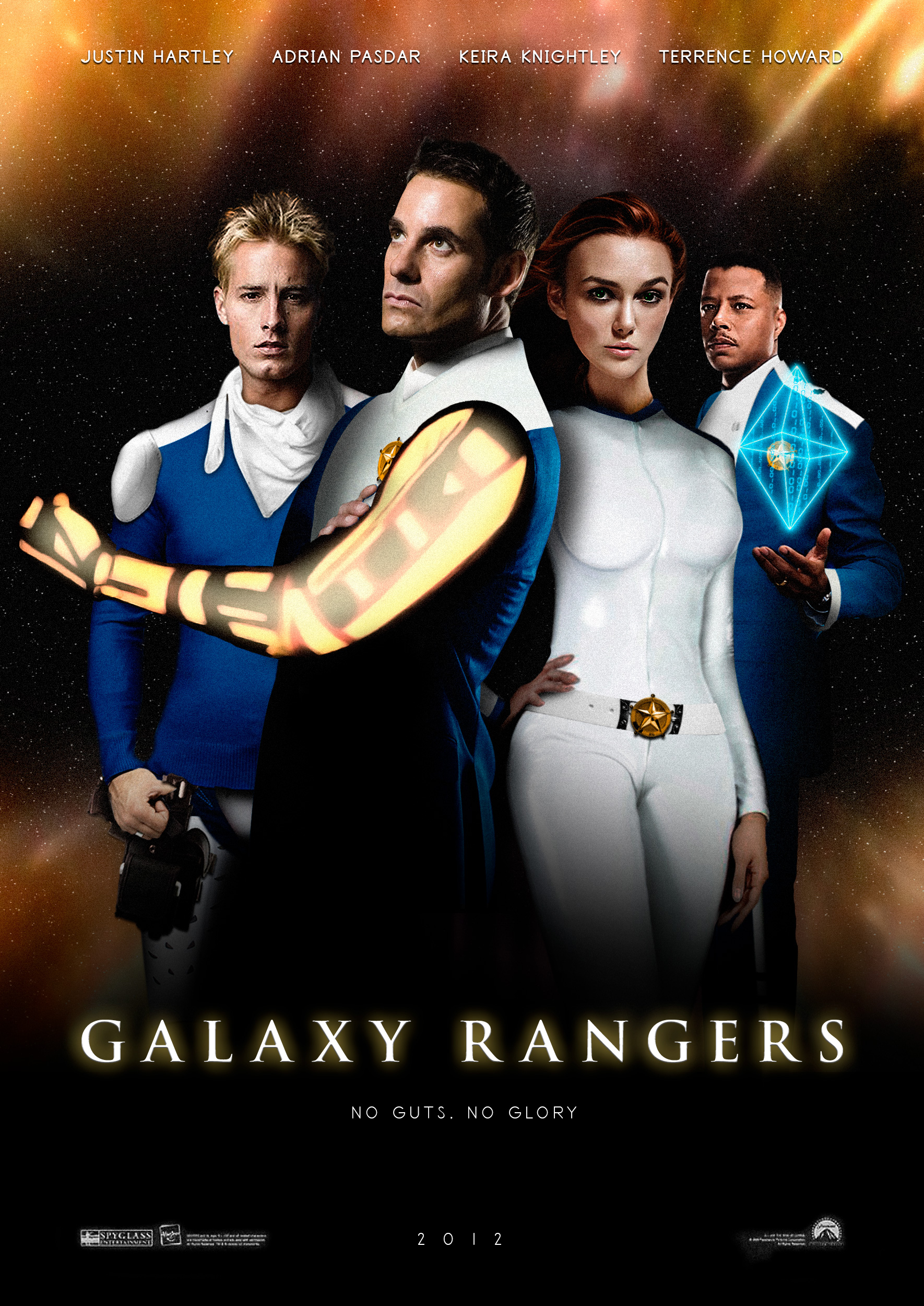 Galaxy Rangers by MartiallArts
