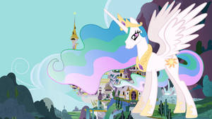 Princess Celestia's Growth Spell Incident by jerryakira80