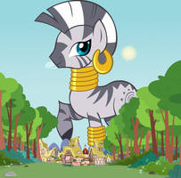 When Zecora Ruled Ponyville by jerryakiraclassics19
