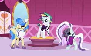 Battle of the Pony Singers by jerryakiraclassics19