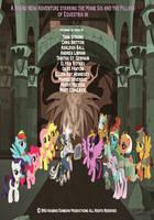 MLP FiM - Shadow Play poster (1993) by jerryakiraclassics19