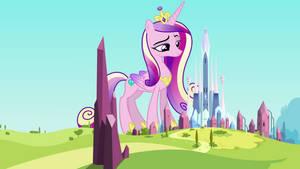 Crystal Empire's Biggest Princess by jerryakiraclassics19