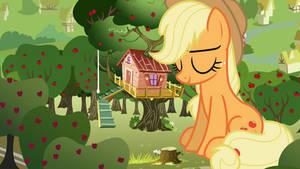 The Giant Sleeping Apple Pony by jerryakiraclassics19
